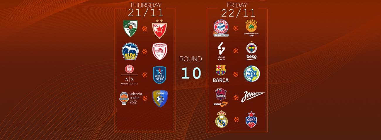 Calendar Countdown: Round 10 - News - Welcome To Euroleague Basketball with regard to 180 Day Countdown Calendar Graphics