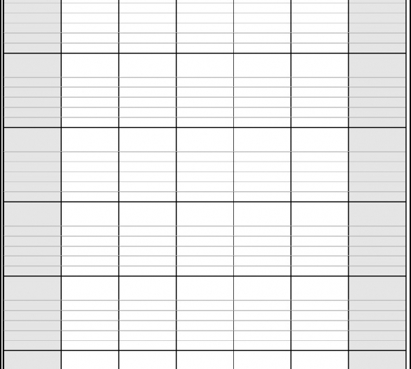 Calendar For Planning within Free Printable Monthly Calendar With Lines