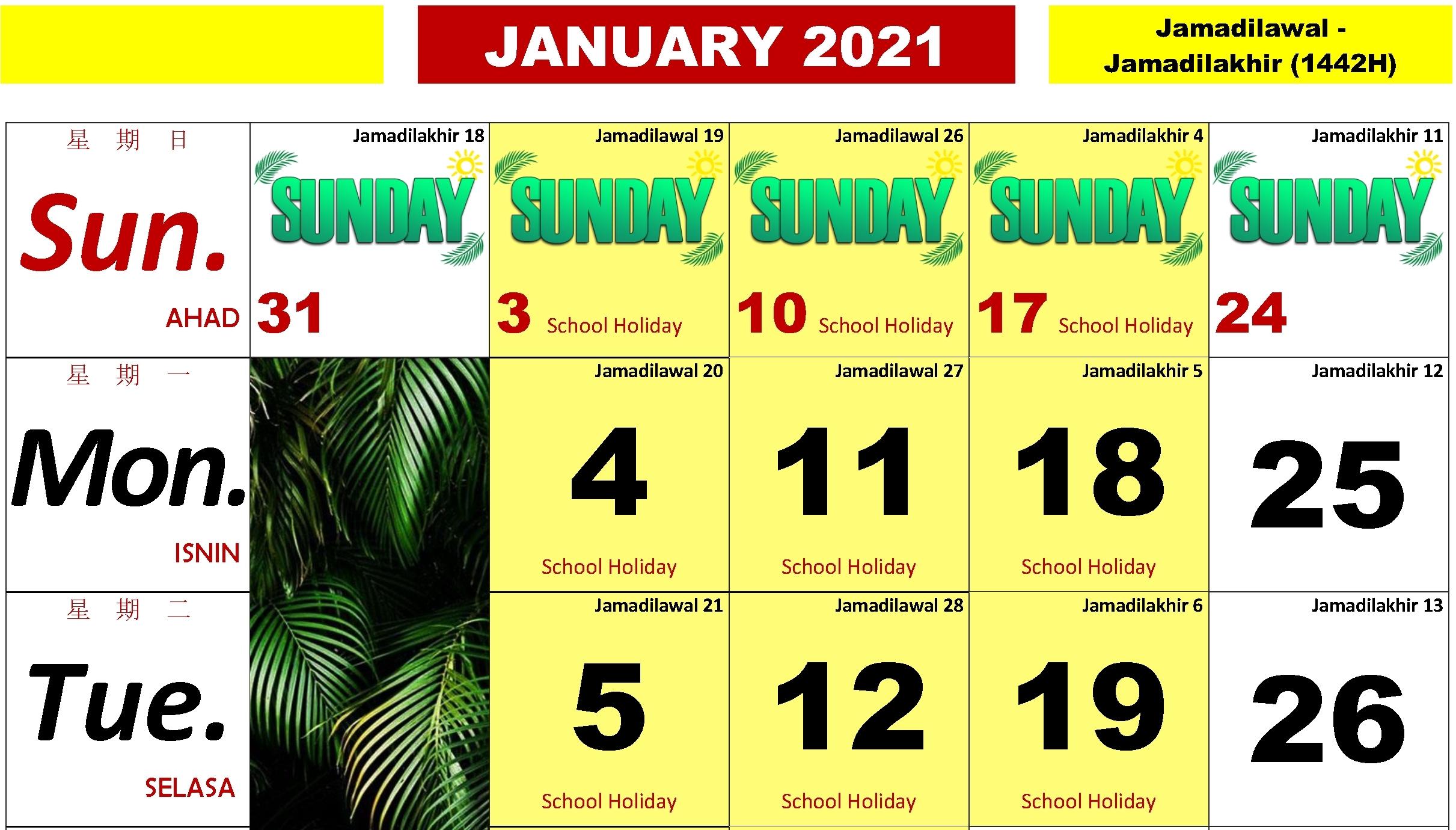 Calendar Kuda 2021 Pdf   Month Calendar Printable regarding Calendar Kuda 2021 Malaysia Image