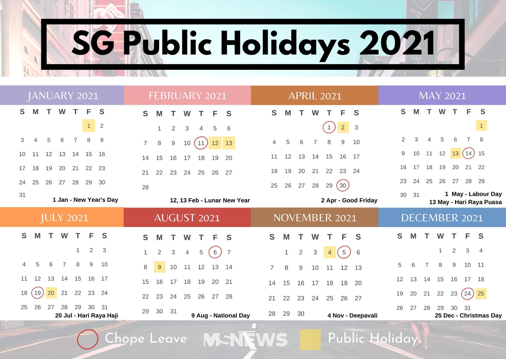 Calendar Of Just Weekends For 2021 | Calendar Printables Free Templates within Printable Calendar 2021 Singapore
