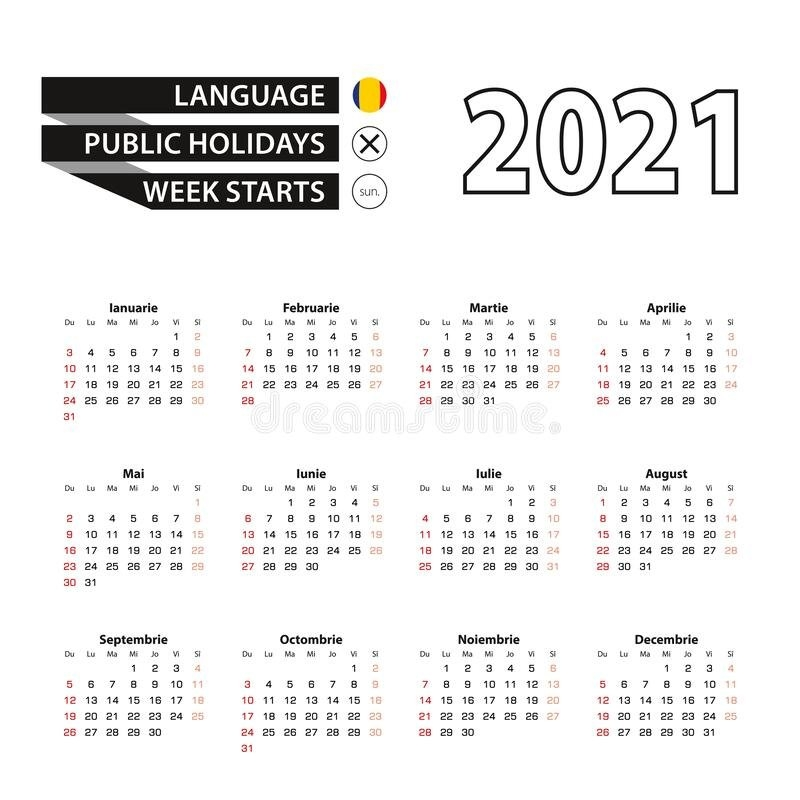 Calendar Romania Stock Illustrations - 67 Calendar Romania Stock Illustrations, Vectors intended for Calendar 2021 Ro Zile Libere Photo