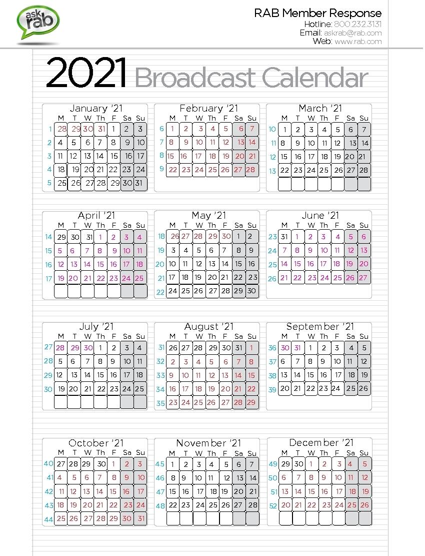 Calendar Year 30 Ad | Ten Free Printable Calendar 2020-2021 with regard to Broadcast Calendar 2019 2021