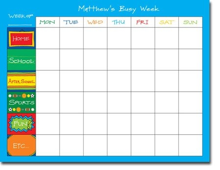 Chatsworth Robin Maguire - Calendar Pads (My Schedule - Calendar Pad): More Than Paper pertaining to 11X17 Activity Calendar Layot Graphics