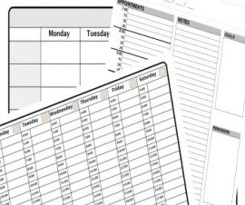 Collection Of Templates Of Printable Calendars, Planners, Holidays, Checklists, Schedules And More regarding 4-4-5 Week Calendar Monday Through Sunday