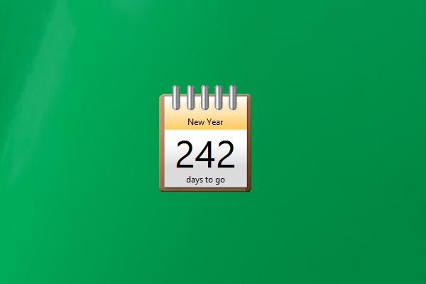 Countdown 2 Date Windows 10 Gadget - Win10Gadgets within Countdown Calendar For Computer Desktop