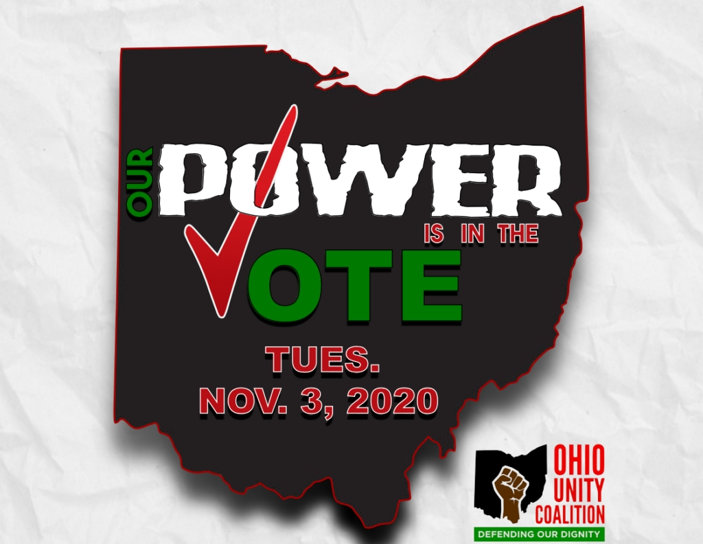 Countdown To Election 2020 - Ohio Unity Coalition throughout Countdown To Election Calender