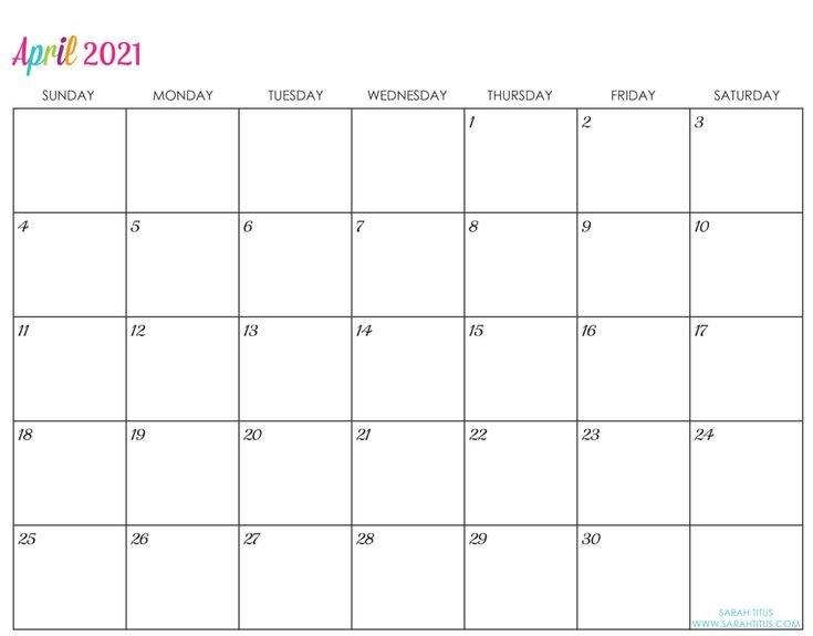 Custom Editable 2021 Free Printable Calendars In 2020 | Calendar Printables, June Calendar inside June Editable Calendar 2021