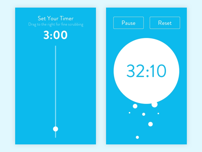 Daily Ui #014 - Countdown Timerollie Khakwani   Dribbble   Dribbble for Countdown Graphics For Facebook