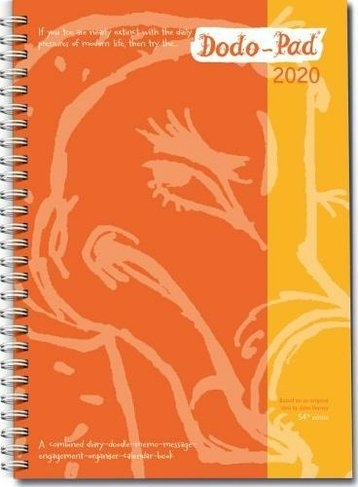 Dodo Pad A5 Diary 2020 - Calendar Year Week To View Diary (Special Purchase): A Diary-Doodle regarding 10,000 Year Calendar Graphics