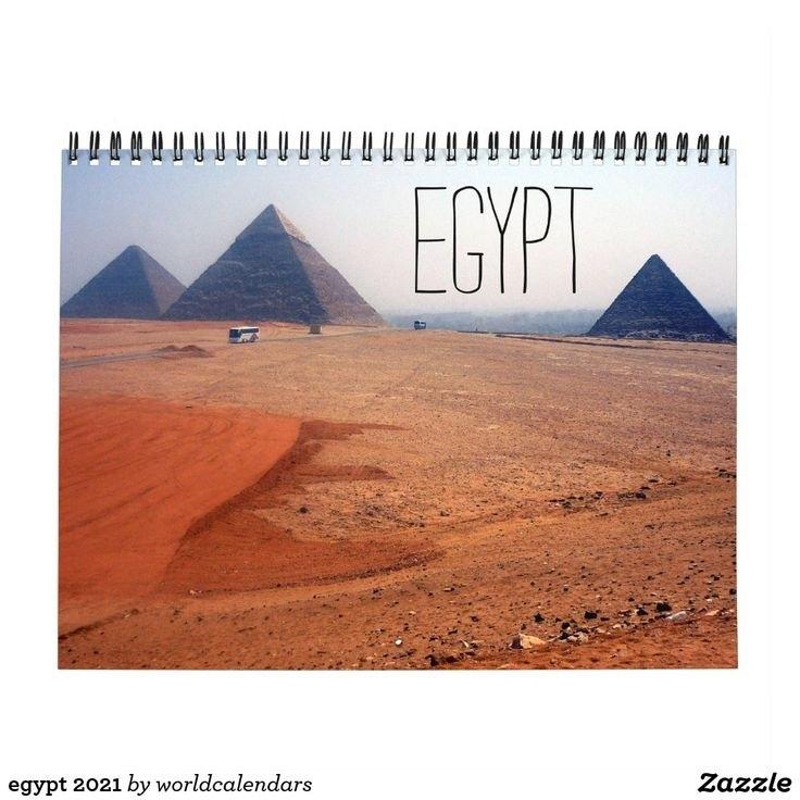 Egypt 2021 Calendar   Zazzle In 2020   2021 Calendar, Egypt, Pyramids Of Giza intended for Egypt Holiday Calendar 2021 Photo