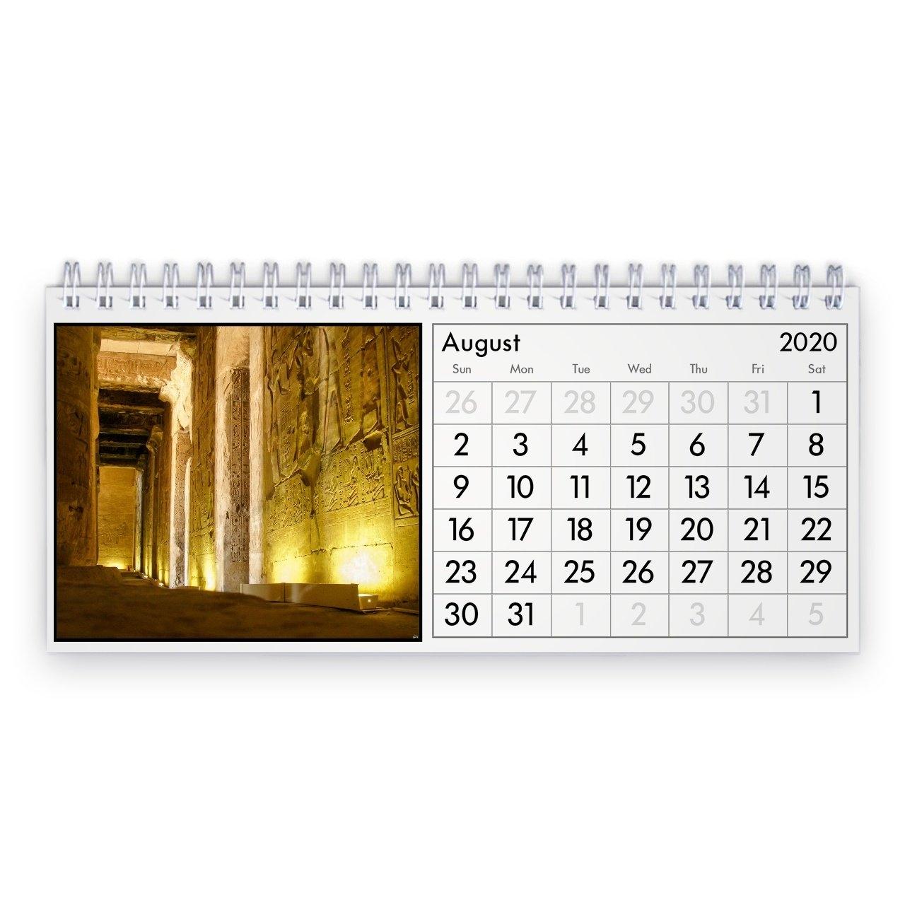 Egypt 2021 Desk Calendar pertaining to Egypt Holiday Calendar 2021