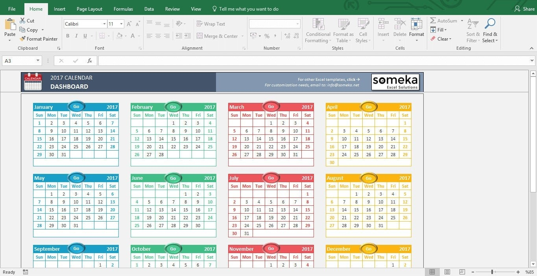 Excel Calendar Template 2021 inside Excel Calendar Template 2021 Editable Graphics