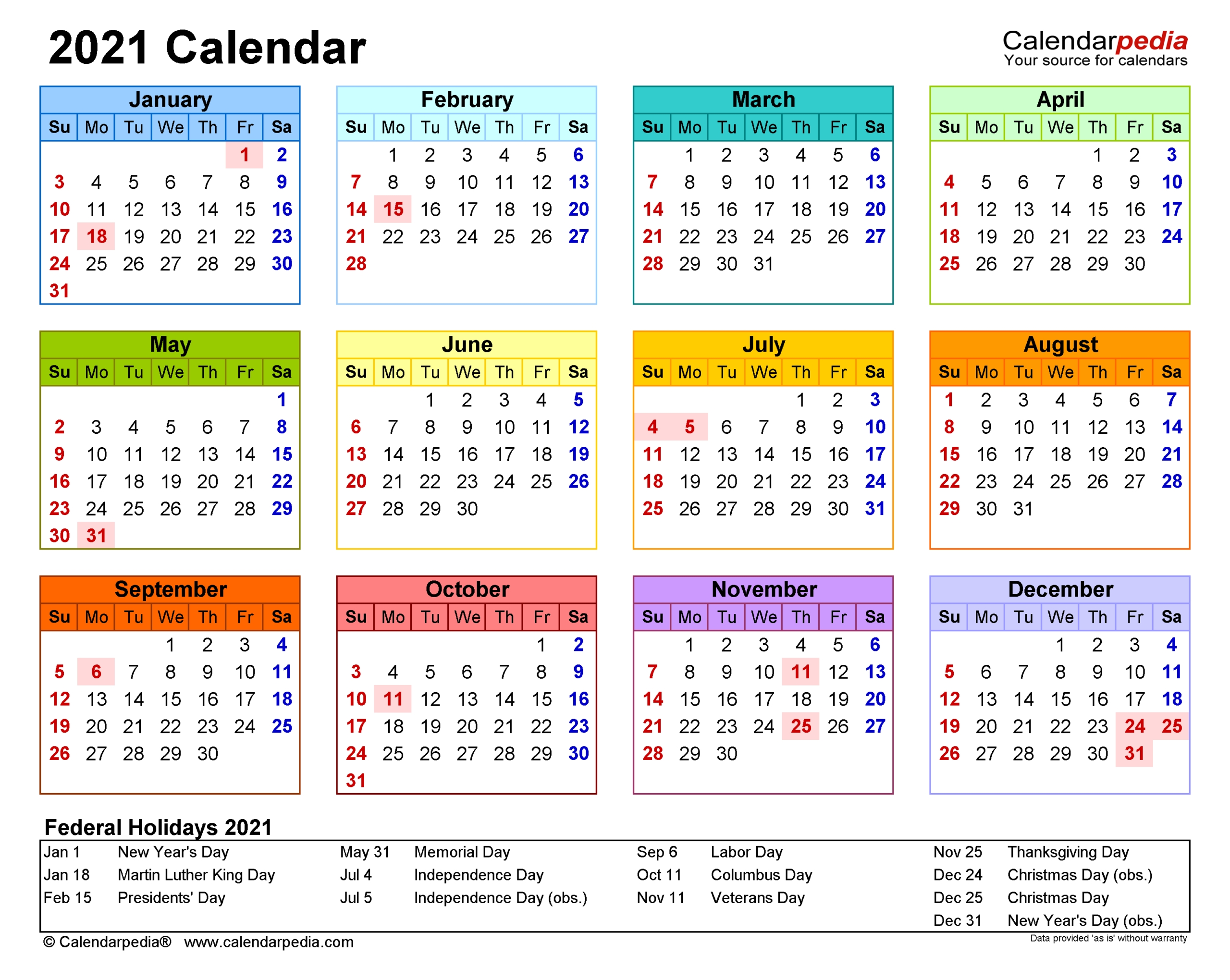 Fiscal Calendar For October 2021   Calendar Printables Free Blank pertaining to Two Year Calendar Template 2021 2021 Image