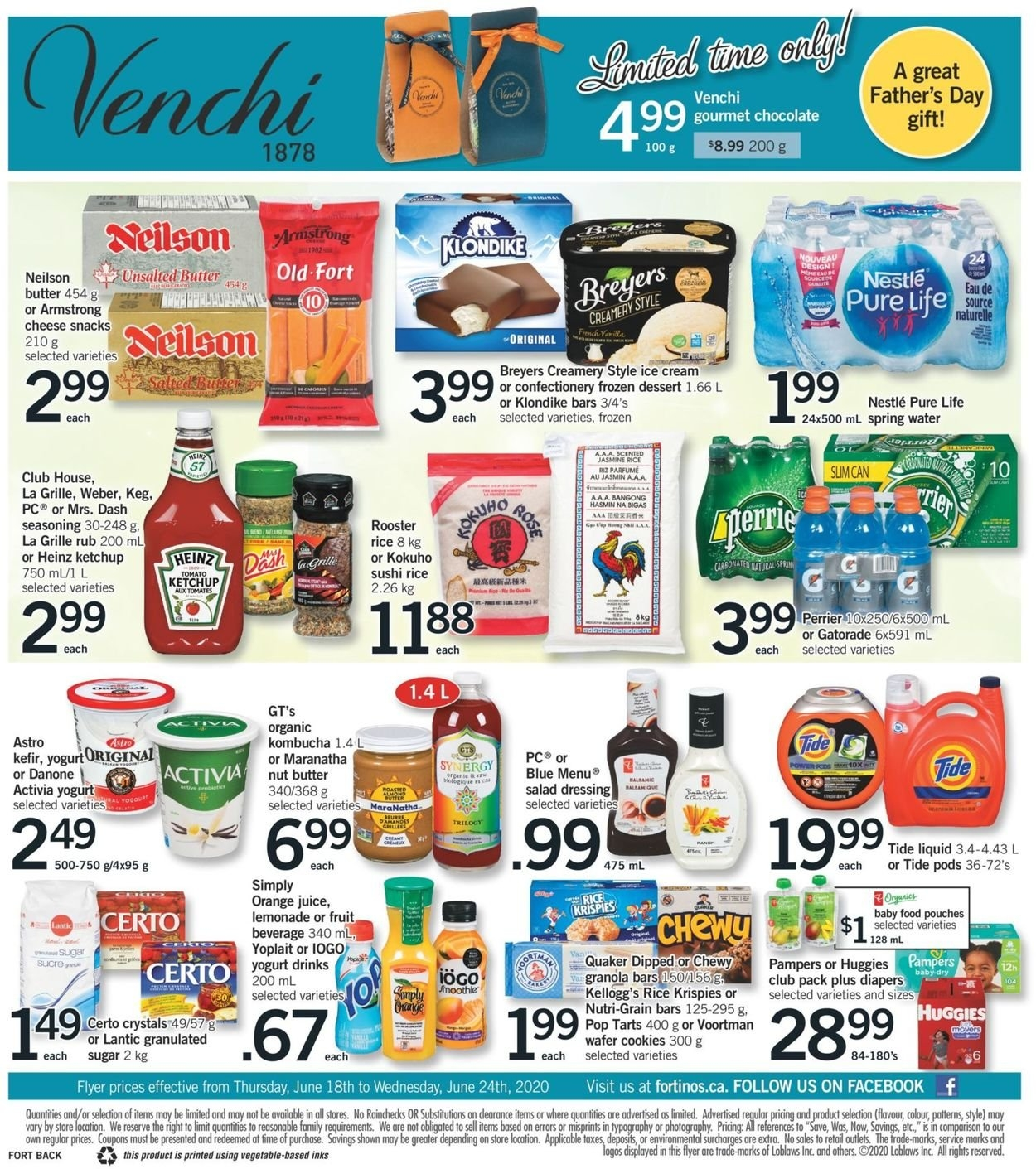 Fortinos Current Flyer 06/18 - 06/24/2020 [2] - Flyers-Canada in Father'S Day 2021 Canada