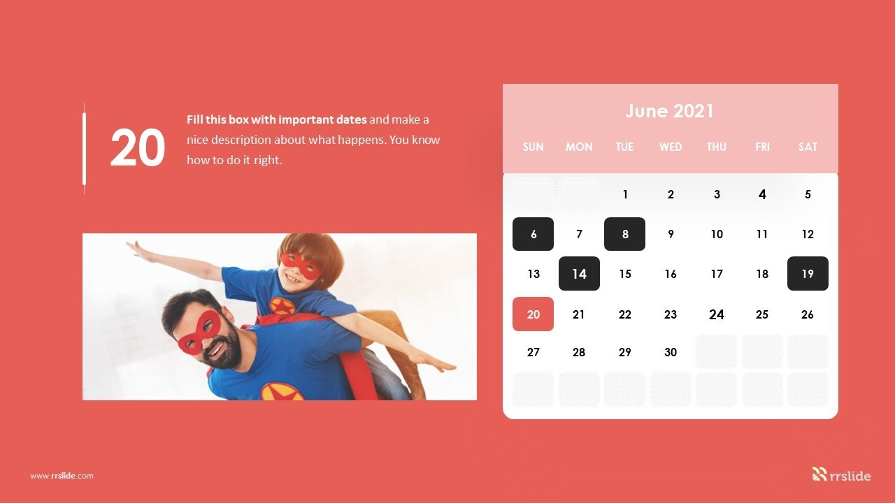 Free 2021 Calendar Powerpoint Template | Download & Keynote Powerpoint Templates in Ppt Calendar Template 2021 Photo