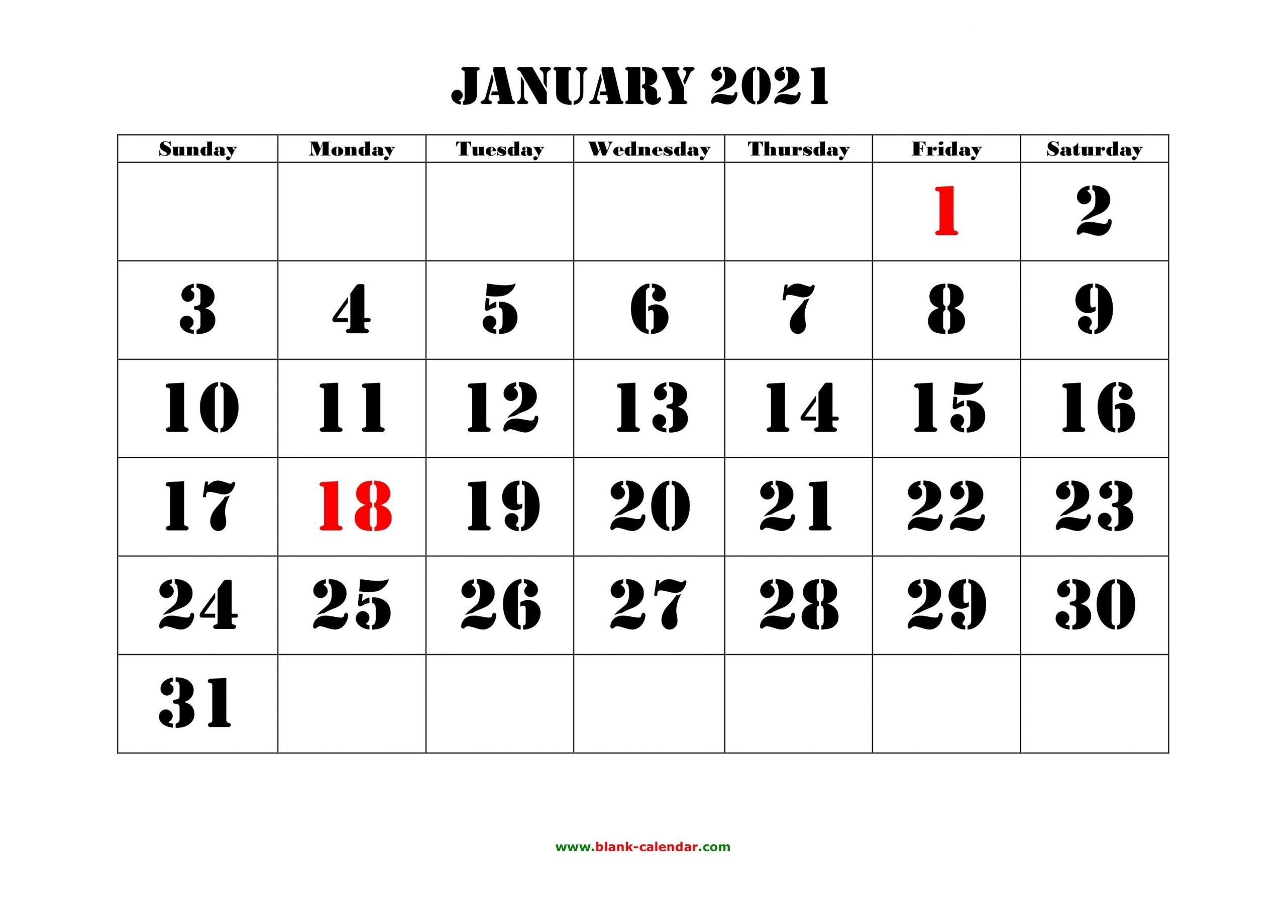 Free 2021 Yearly Calender Template / 12 Month Colorful Calendar For 2021 - Free Printable with Free Photo 2021 Calendar To Download Graphics
