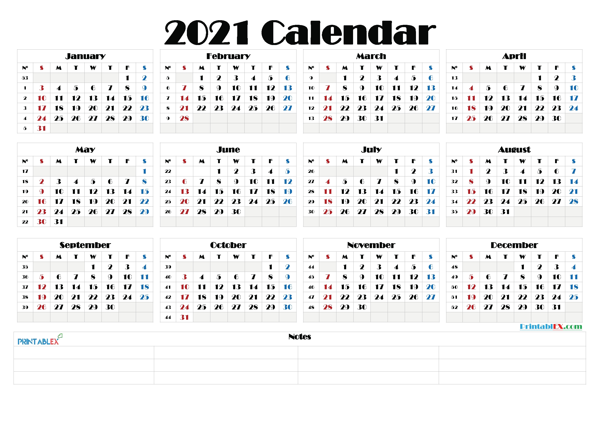 Free 2021 Yearly Calender Template - 2021 Printable Yearly Calendar Free Hipi Info : Below Are in Google 2021 Calendar Printable Image