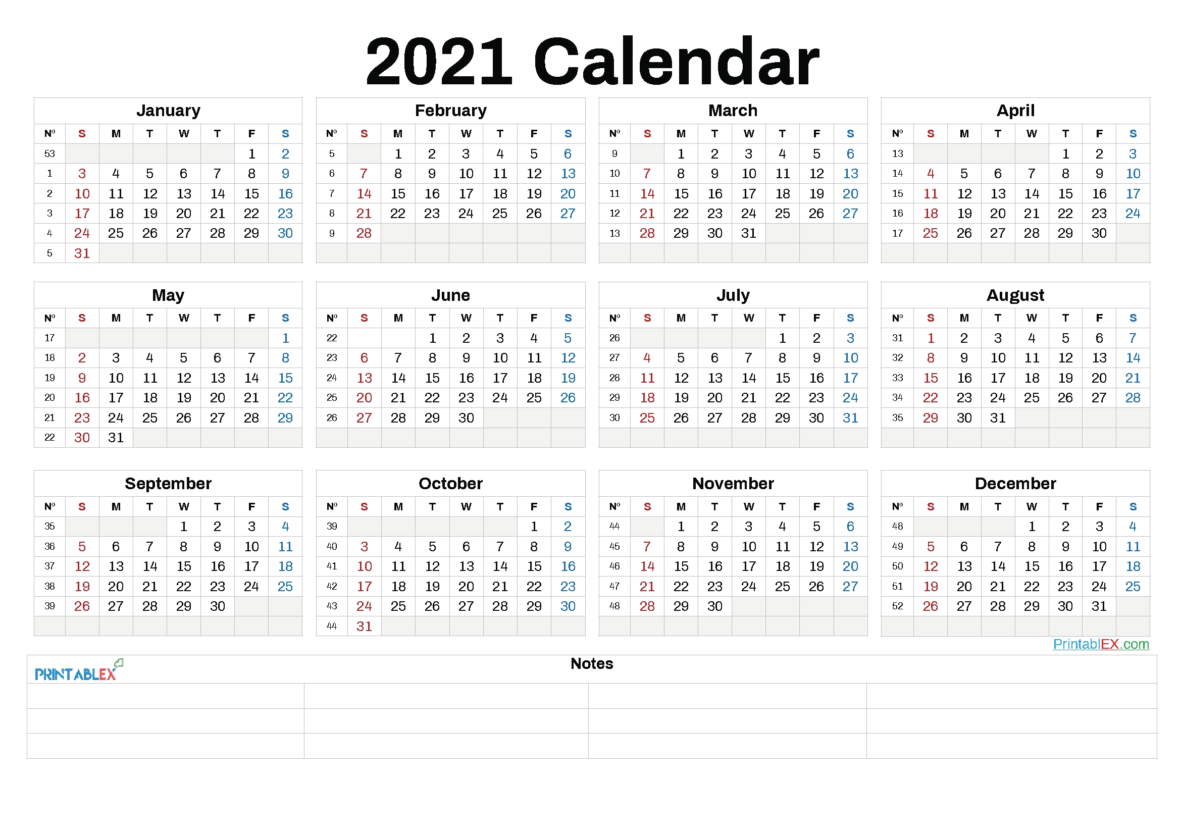 Free 2021 Yearly Calender Template / Free Printable 2021 Calendar Templates - Choose From Yearly inside Free Printable Calendarlabs 2021 Graphics