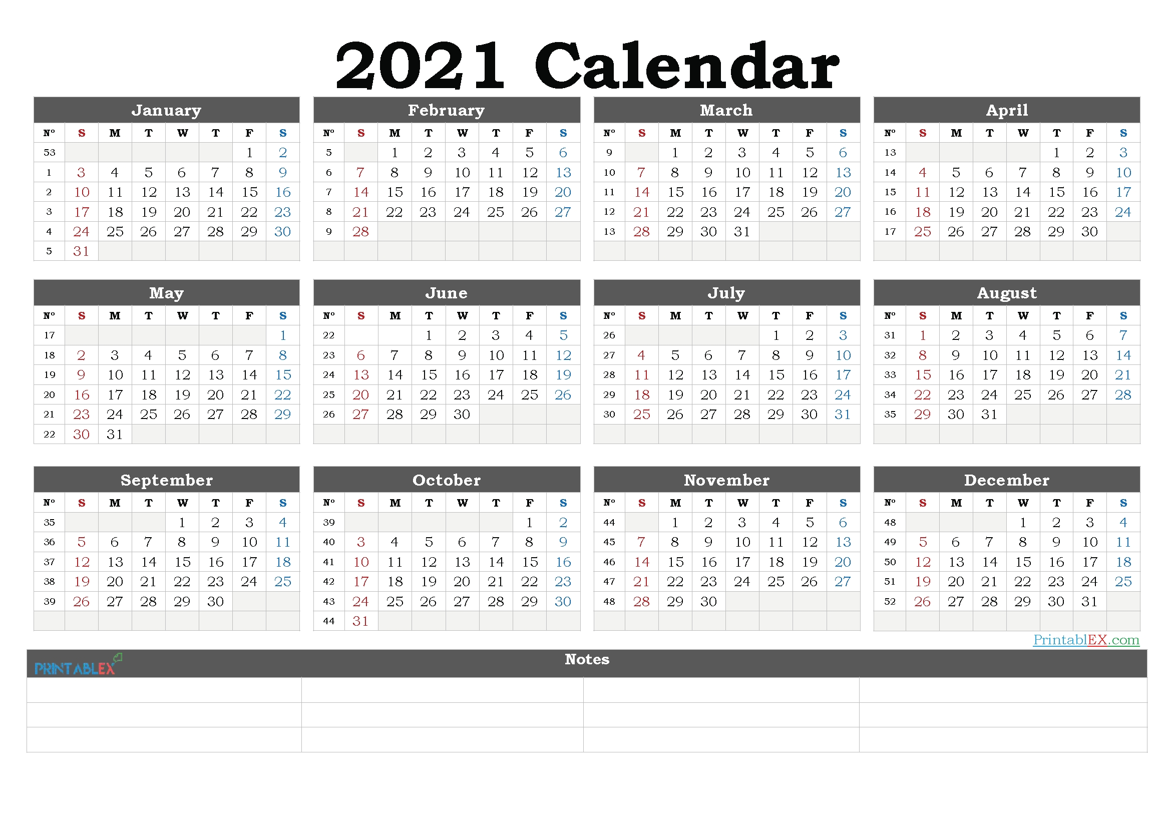 Free Downloadable 2021 Word Calendar - Free 2021 Calendars That You Can Download, Customize, And for Google 2021 Calendar Printable Image