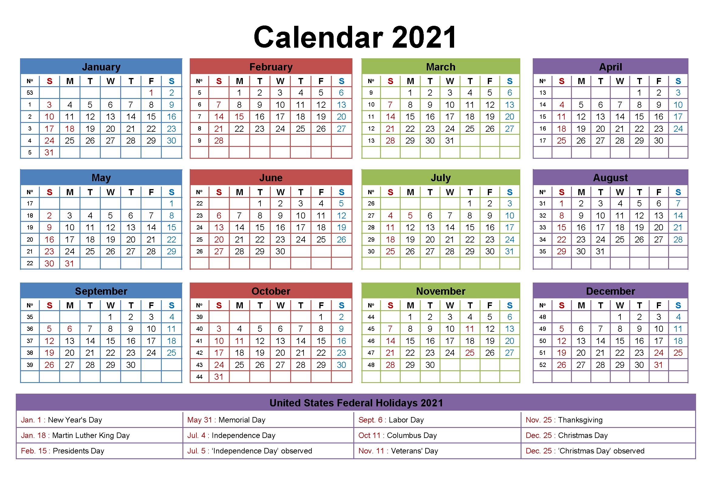 Free Editable 2021 Calendar Printable Template with Excel Calendar Template 2021 Editable Graphics