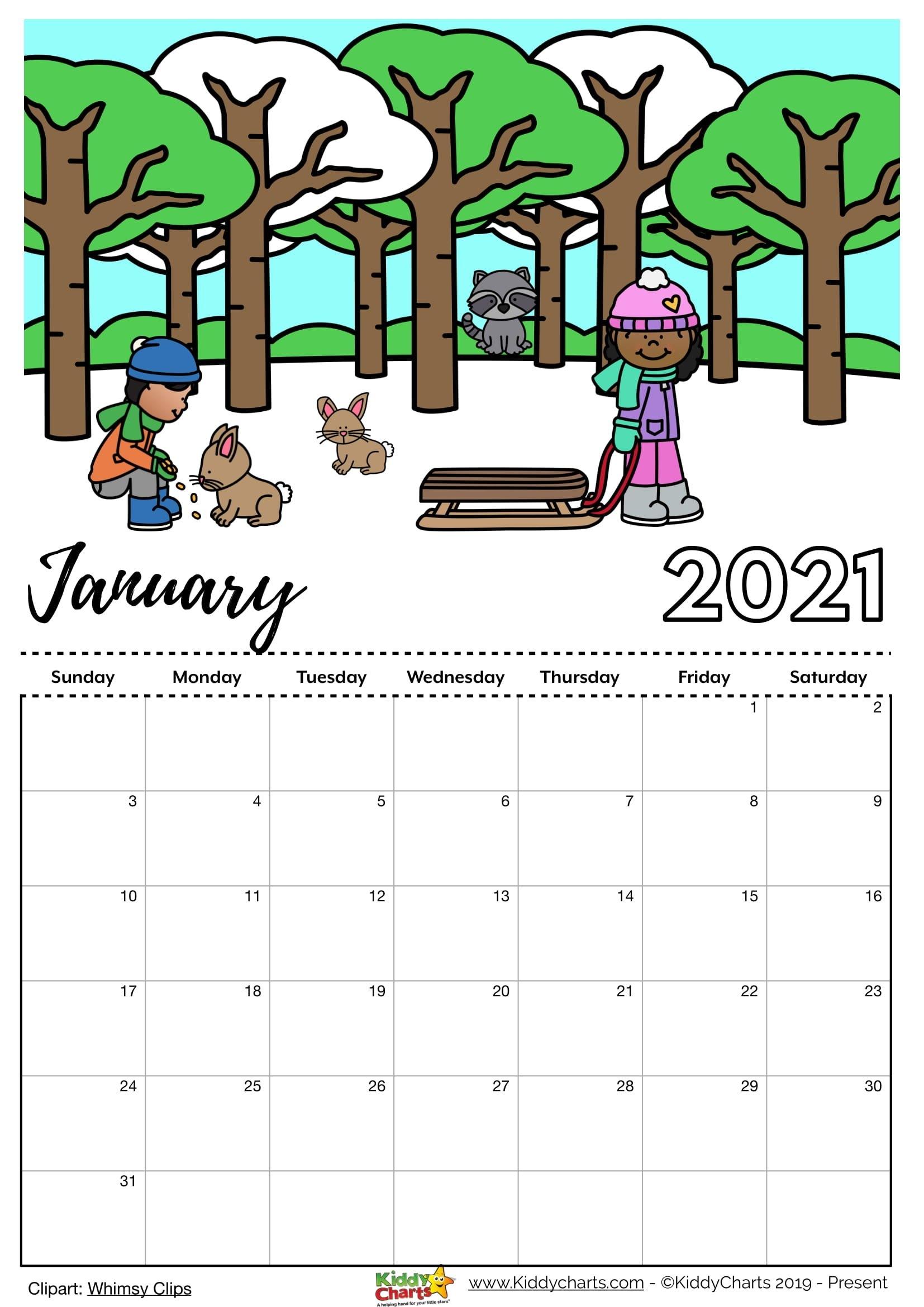 Free Editable Weekly 2021 Calendar - Free Printable 2021 Calendar: Includes Editable Version with regard to Print Calendar 2021 Monthly Free Photo