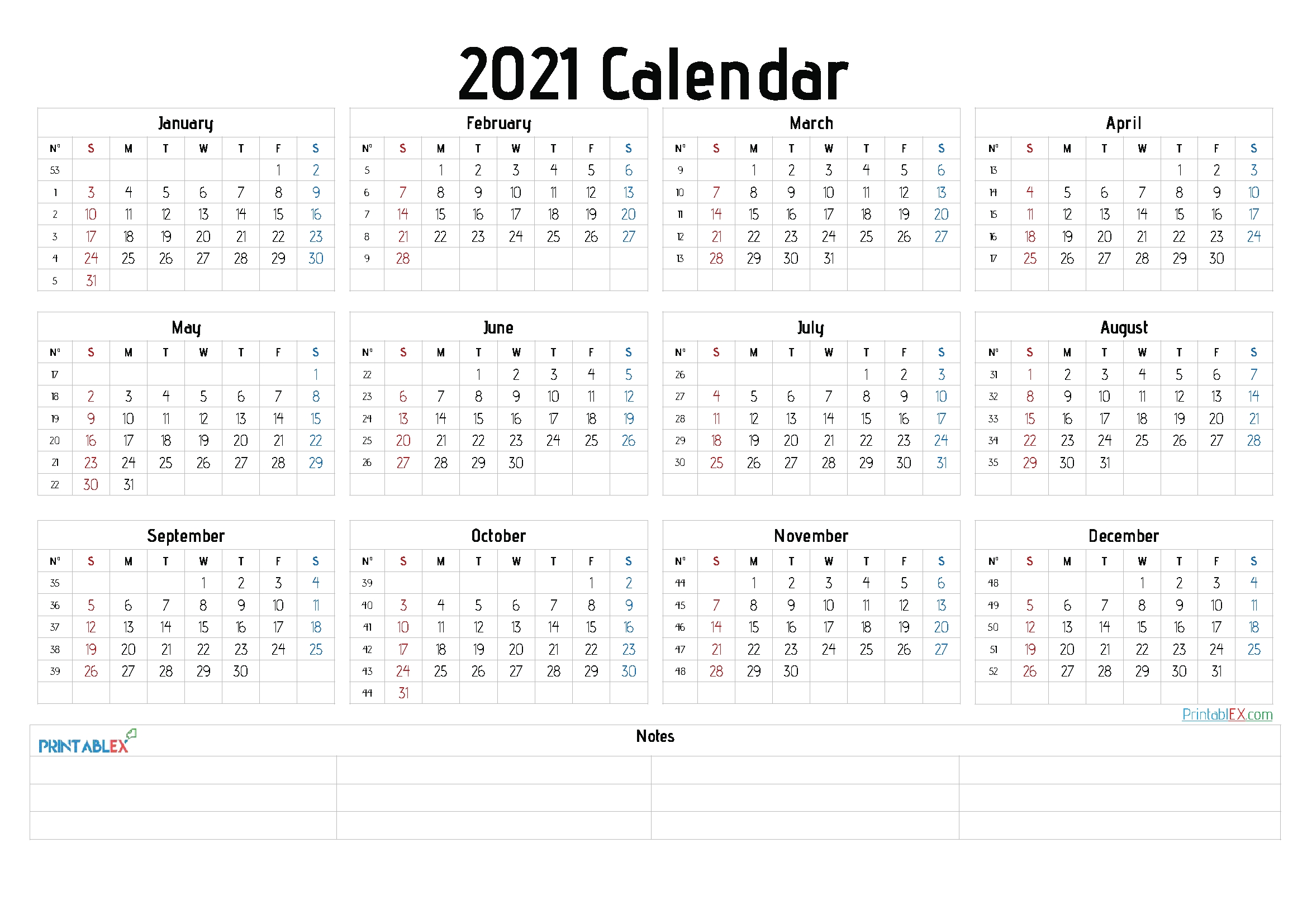 Free Editable Weekly 2021 Calendar / Weekly Calendar 2021 Word Excel Pdf / Our Calendars Are for Free Printable Calendarlabs 2021