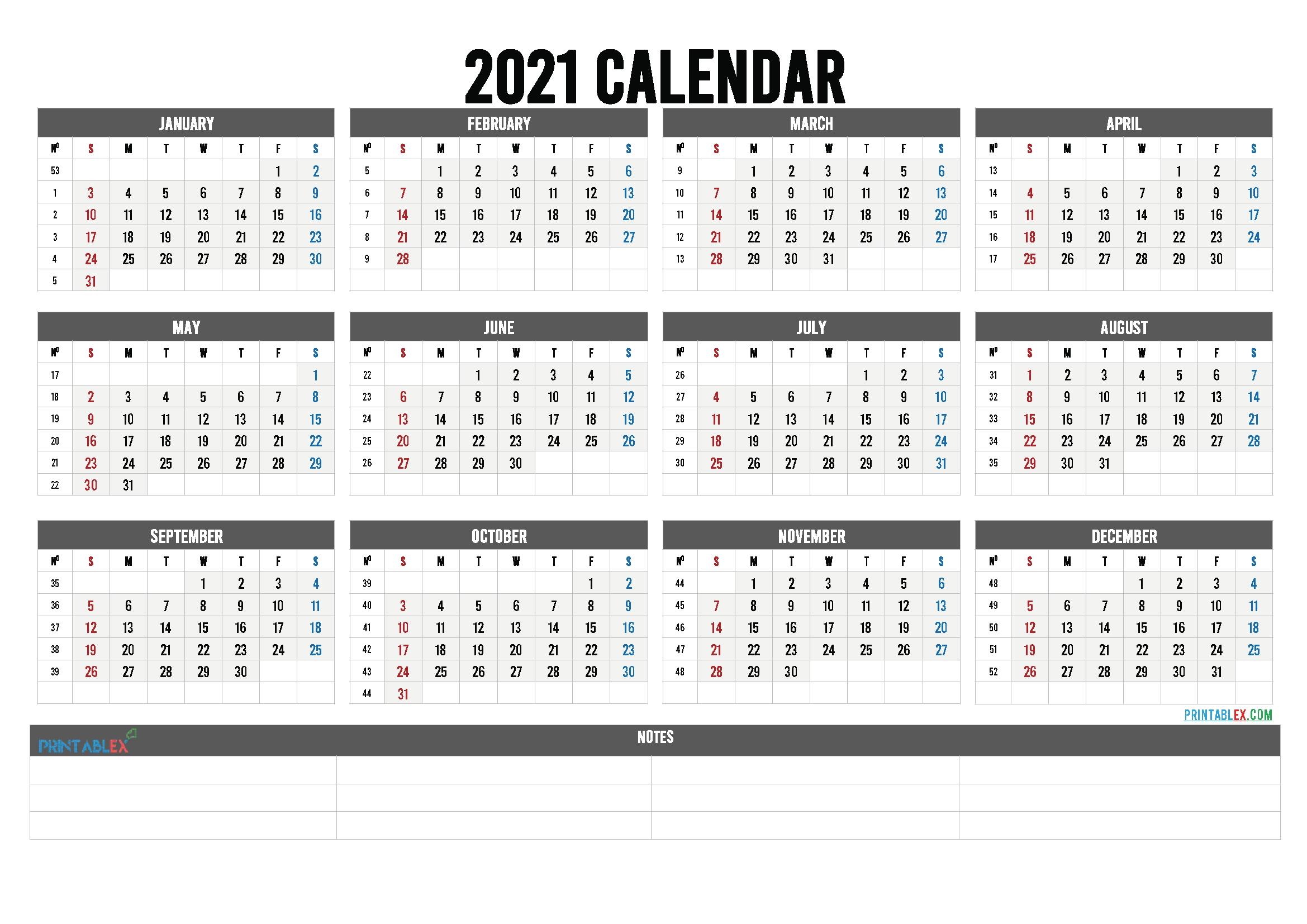 Free Printable 2021 Calendar Templates - 6 Templates - Free Printable Calendars intended for Calender 2021 To 2025 Photo