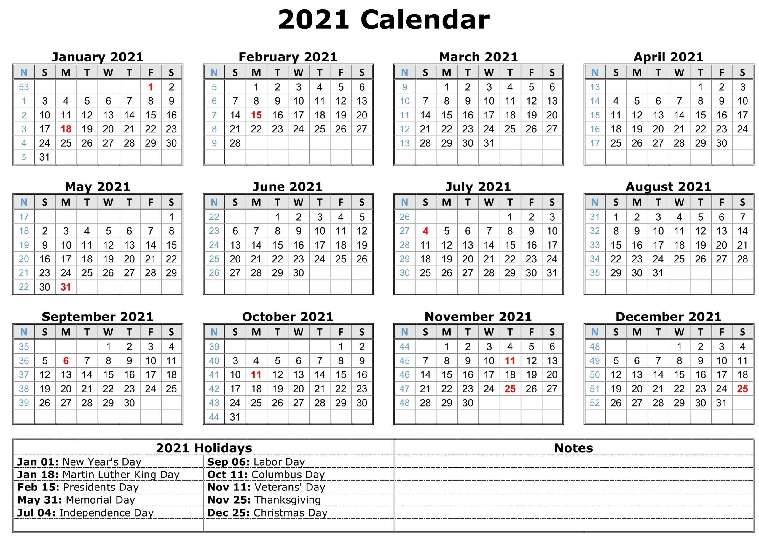 Free Printable 2021 Monthly Calendar With Holidays Malaysia   Printable Calendar throughout 2021 Printable Monthly Calendar