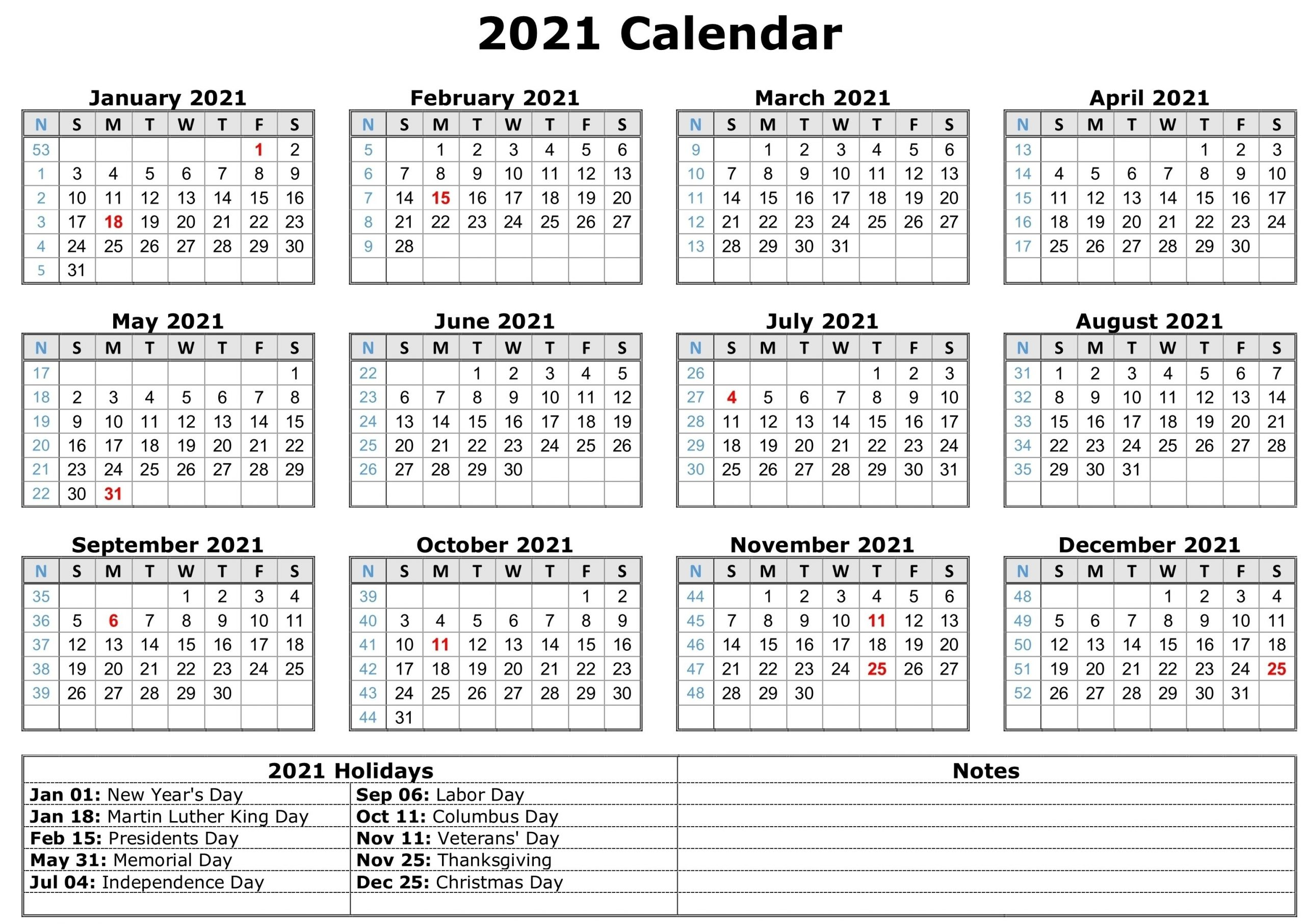 Free Printable Calendar Year 2021   Month Calendar Printable regarding Free Calendar Template 2021 Printable With Lines