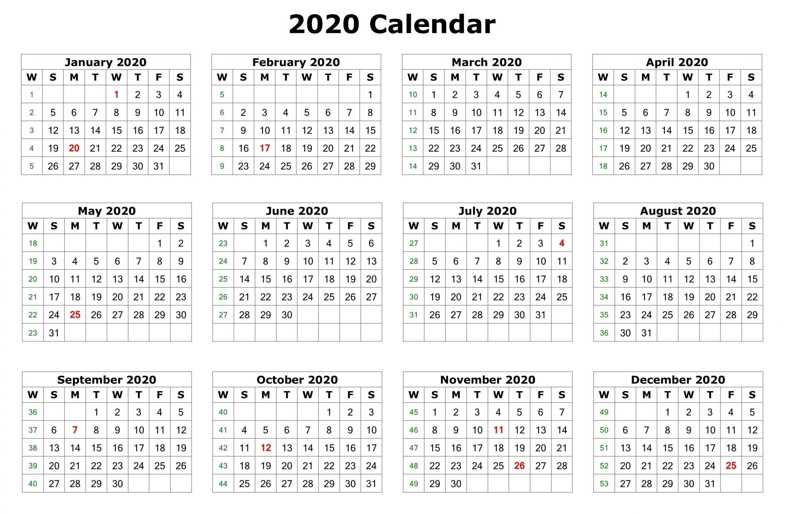 Get 8X11 Printable 2020 Calendar | Calendar Printables Free Blank throughout Broadcast Calendar 2019 2021