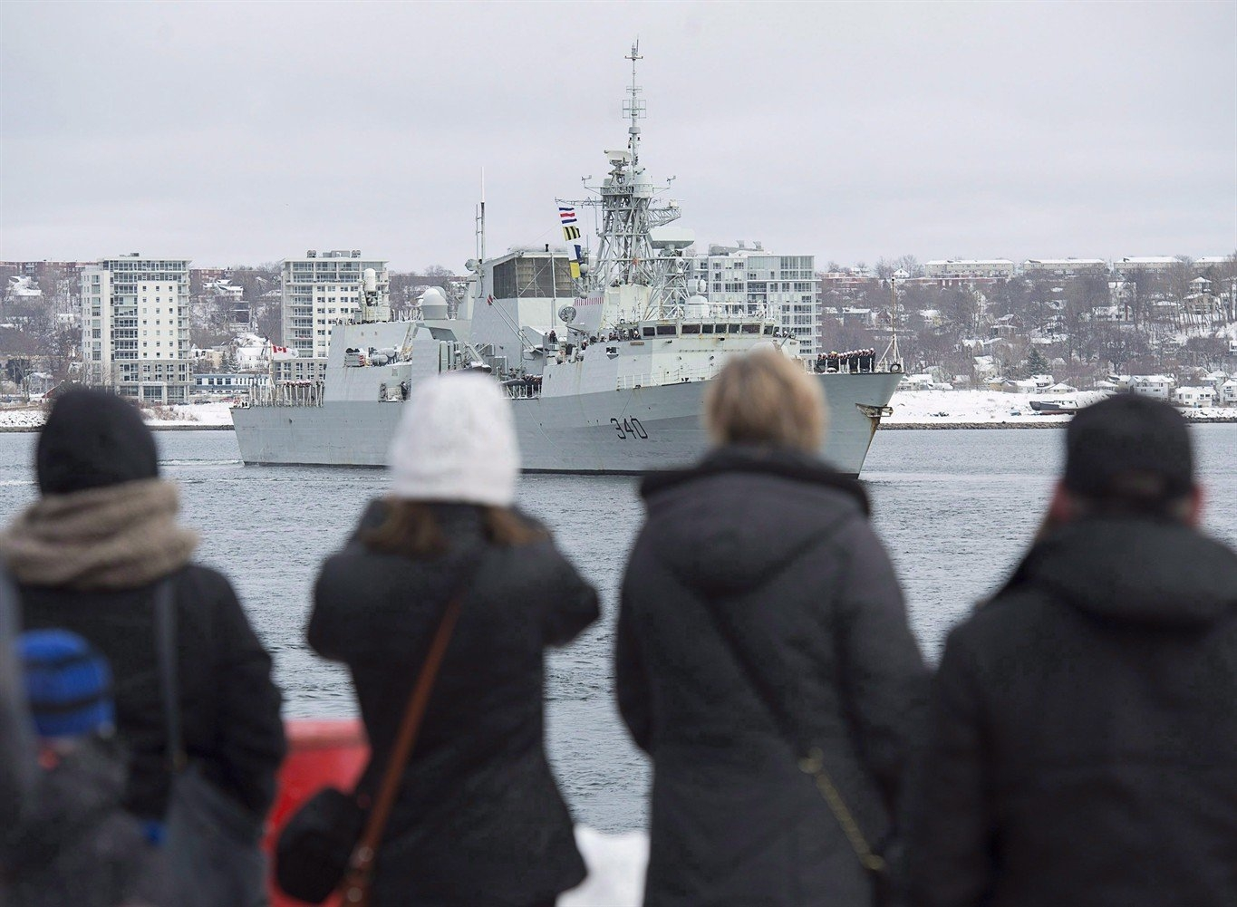 Hmcs St. John'S To Return To Halifax After Six-Month Deployment Overseas for Deployment Countdown Calendar 2018 Photo