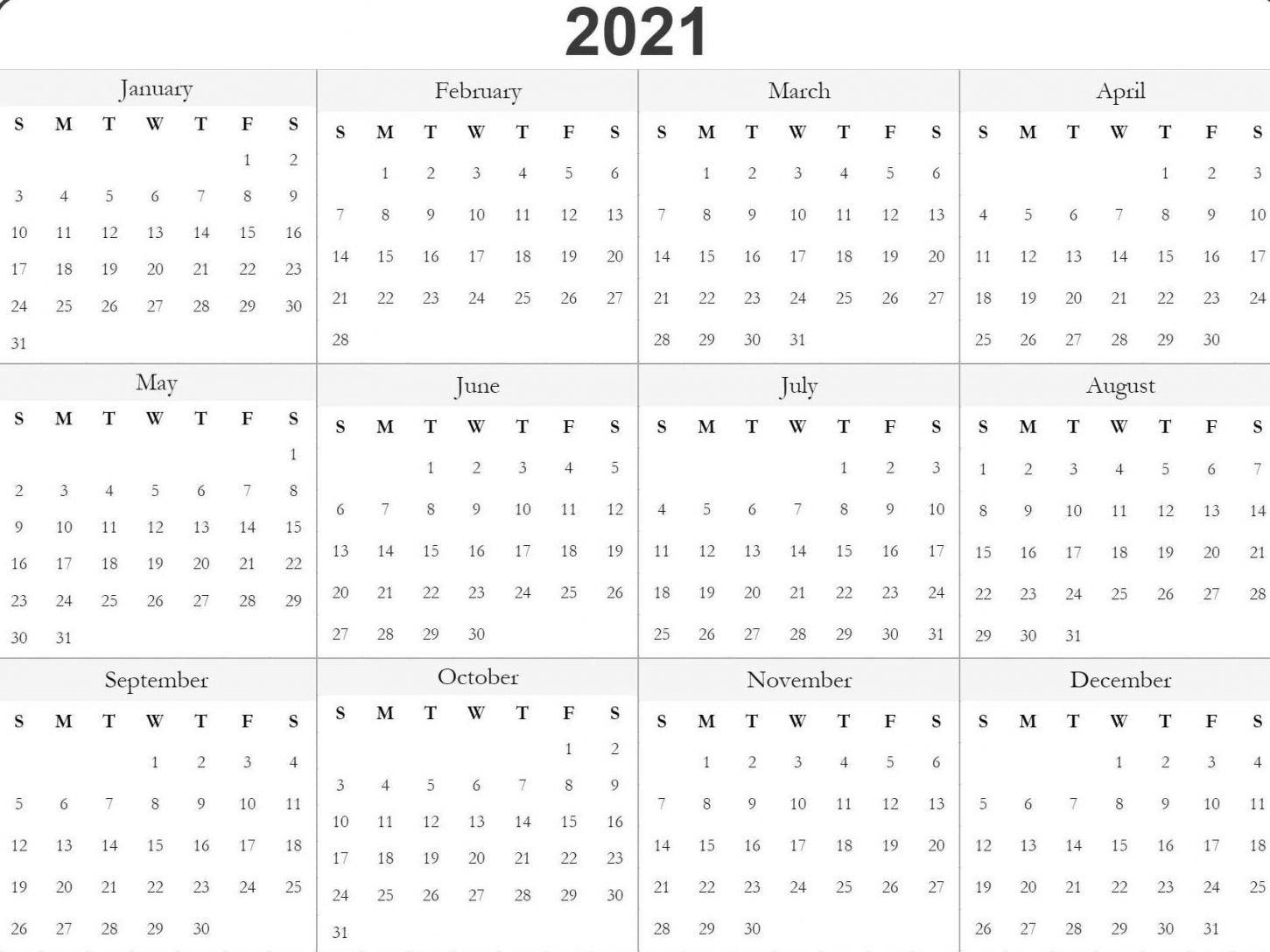Julian Date Calendar 2021 | Example Calendar Printable in 2021 Julian Date Calendar