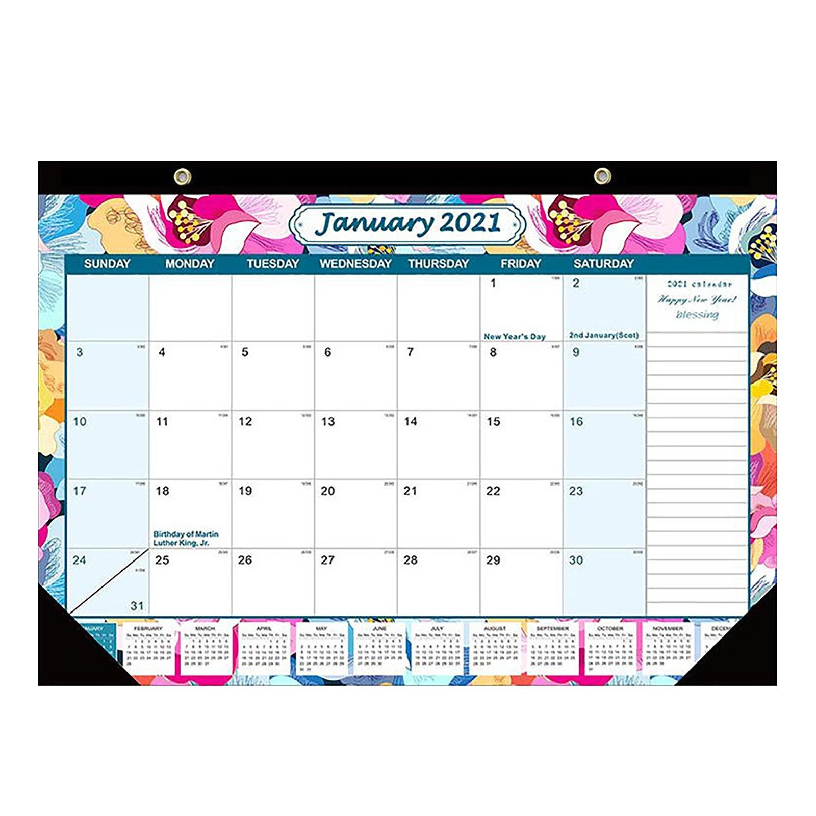 Julian Date Calendar 2021 | Example Calendar Printable in Printable Calendar 2021 Monthly With Notes Graphics