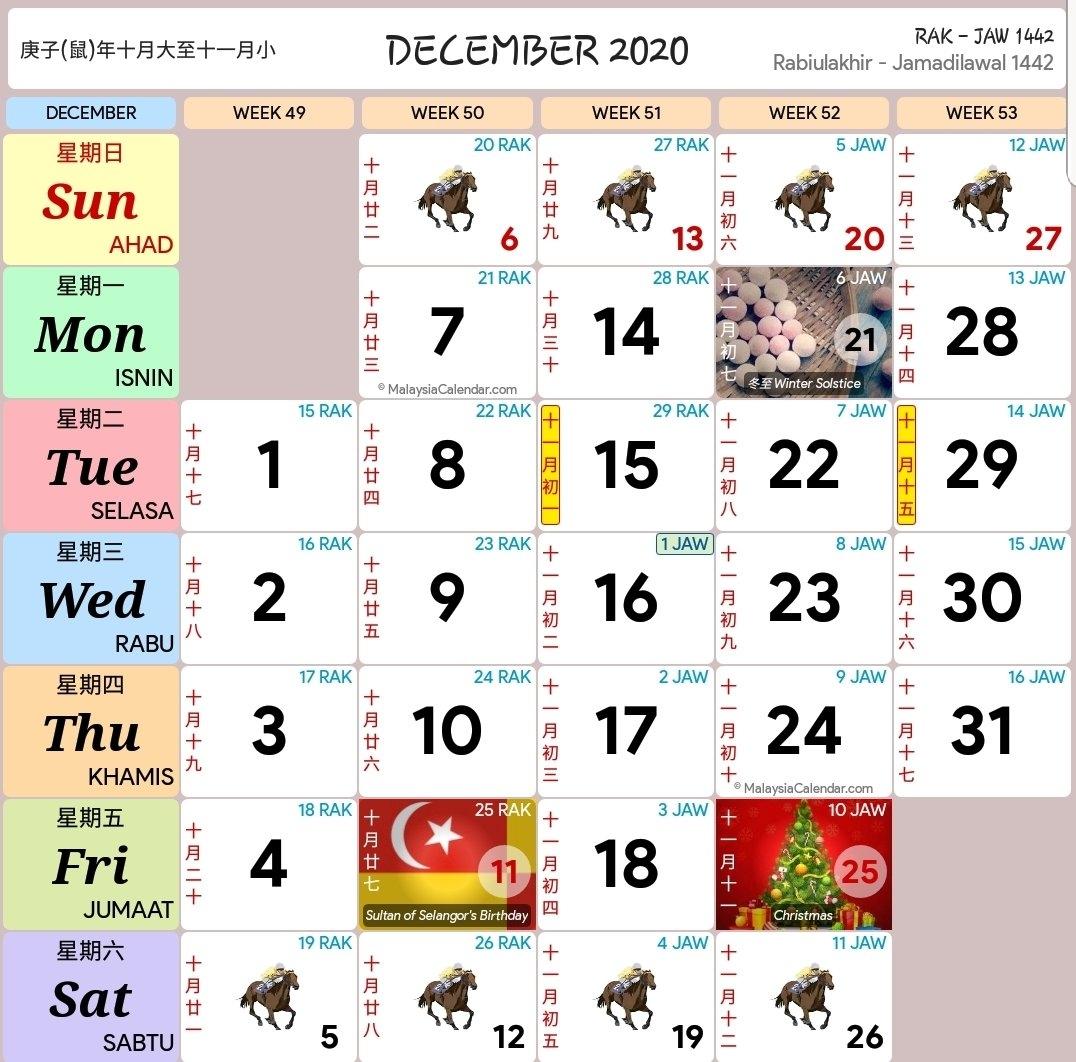 Kalendar 2020 Dan Cuti Sekolah 2020 - Rancang Percutian Anda! - Layanlah!!!   Berita Terkini within Calendar Kuda 2021 Malaysia