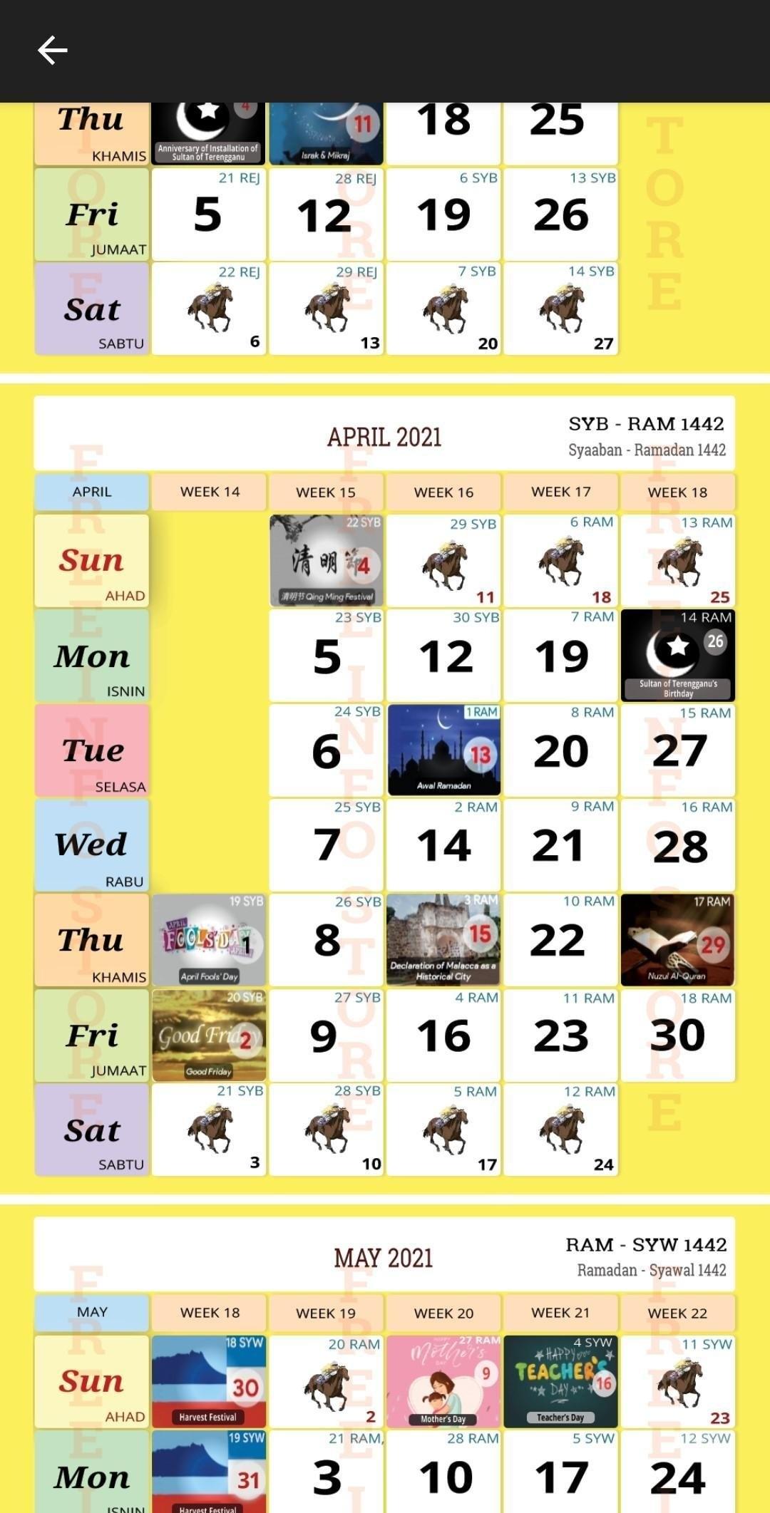 Kalendar Kuda 2021 For Android - Apk Download pertaining to Kalendar Kuda 2021 Cuti Sekolah Graphics