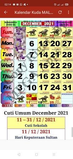 Kalendar Kuda Malaysia - 2021 For Android - Download Kalendar Kuda Malaysia - 2021 Apk 2.3.3 pertaining to Kuda Calendar Malaysia 2021 Image