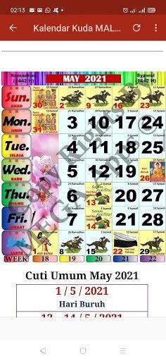 Kalendar Kuda Malaysia - 2021 For Android - Download Kalendar Kuda Malaysia - 2021 Apk 2.3.3 with regard to Kuda Calendar Malaysia 2021 Image