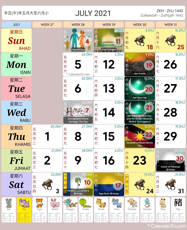 Kalender Islam 2021 Malaysia Pdf intended for Kalendar Kuda 2021 Pdf Image