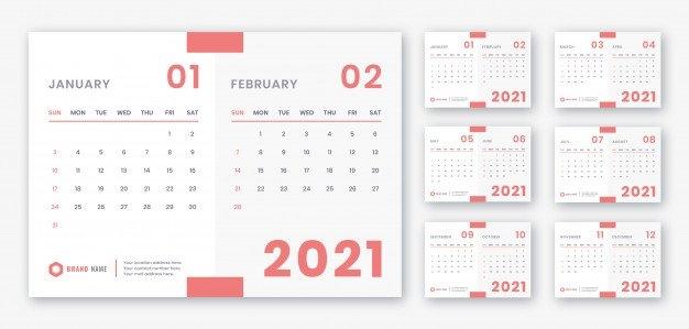 Kalender Meja 2021 - Download 160+ Contoh Template Desain for 2021 Myanmar Calendar Psd Free Photo