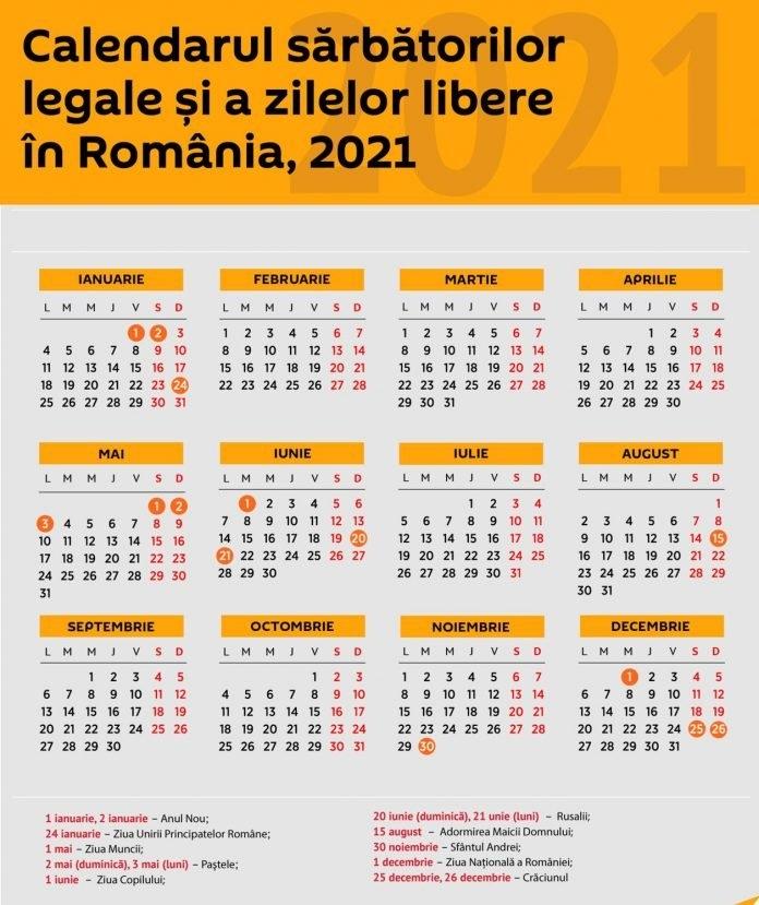 Mai Puține Zile Libere În 2021, Pentru Bugetari! - Radio Targu Jiu for Zile Libere In 2021 Image