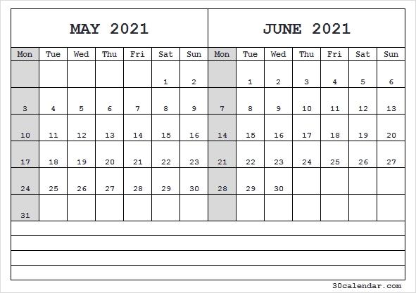 May June Calendar 2021 Template - May 2021 Calendar Editable with regard to June Editable Calendar 2021 Graphics