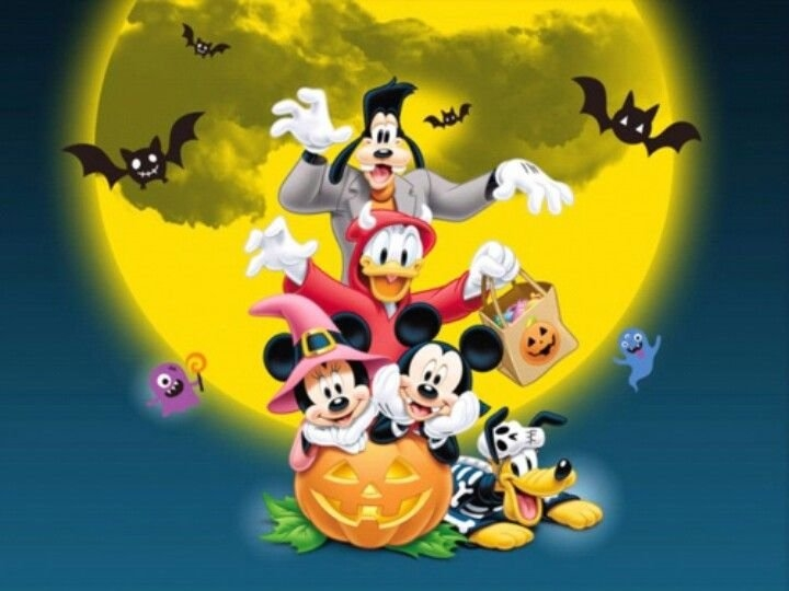Mickey & Friends   Disneyland Halloween, Disney Holiday, Mickey And Friends for 180 Day Countdown To Disney