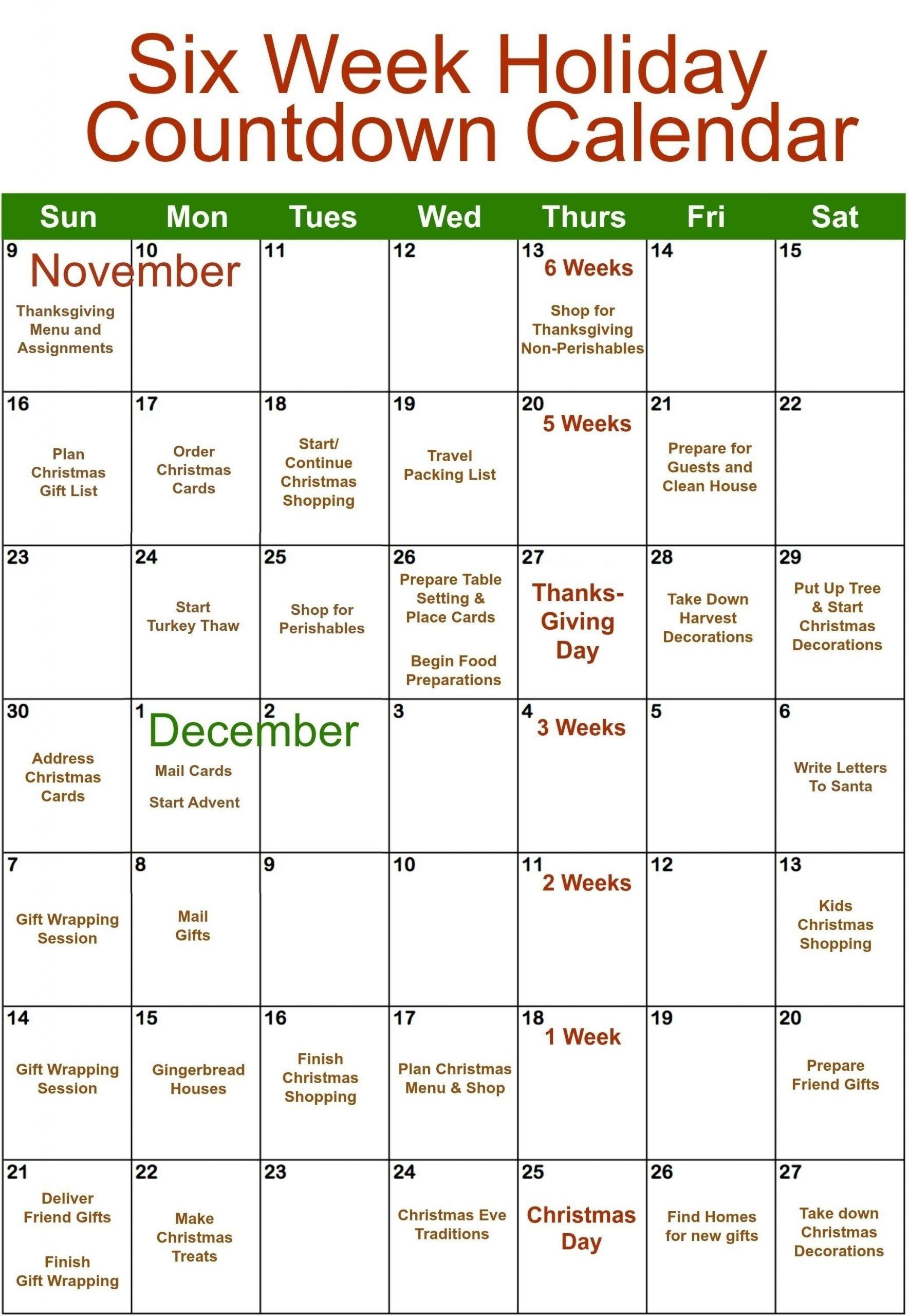 Microsoft Template Calendar Coundown   Calendar Template Printable for Excel Countdown Calendar With Picture Photo
