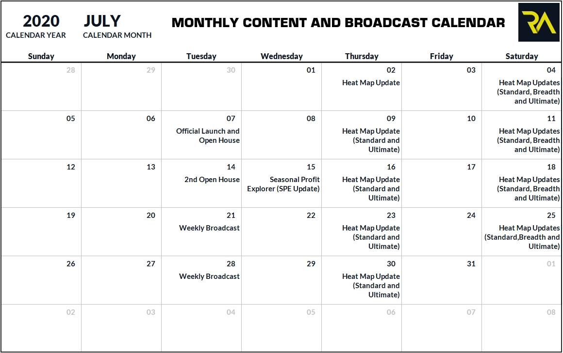 Mo - Broadcast Calendar - Riverside Analytics Inc throughout Broadcast Month Calendar 2021