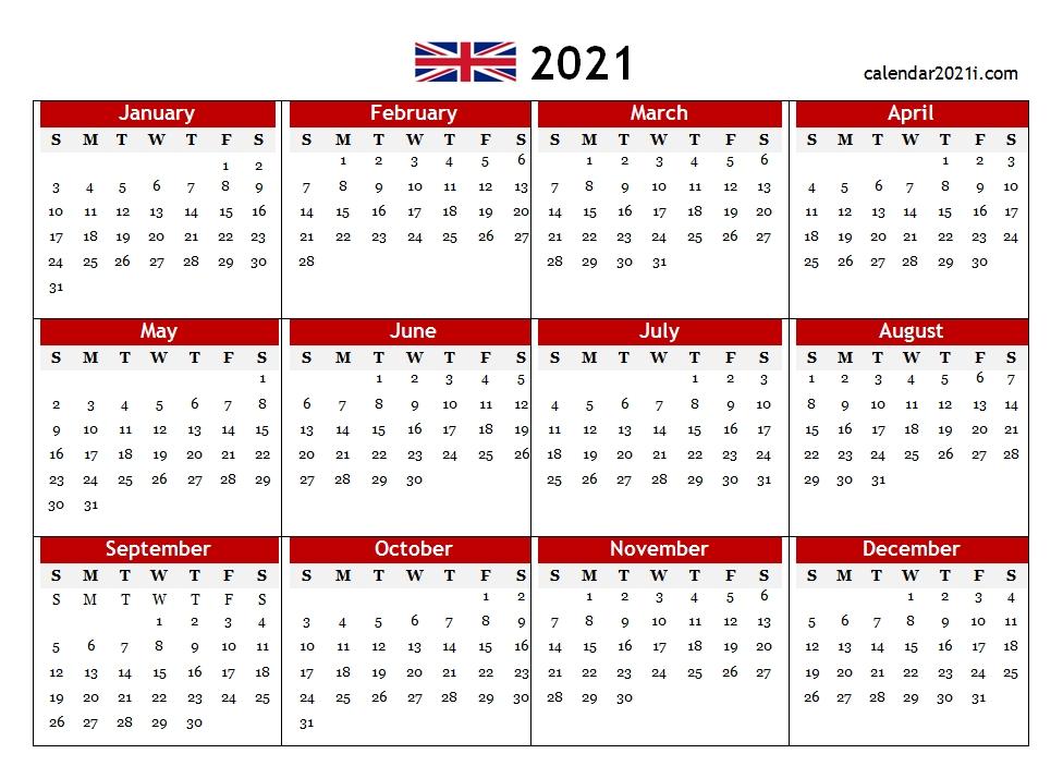 Monthly Calendar 2021 Printable Free Word : Printable 2021 Monthly Calendar Templates inside Printable 2021 Monthly Calendar Template Image