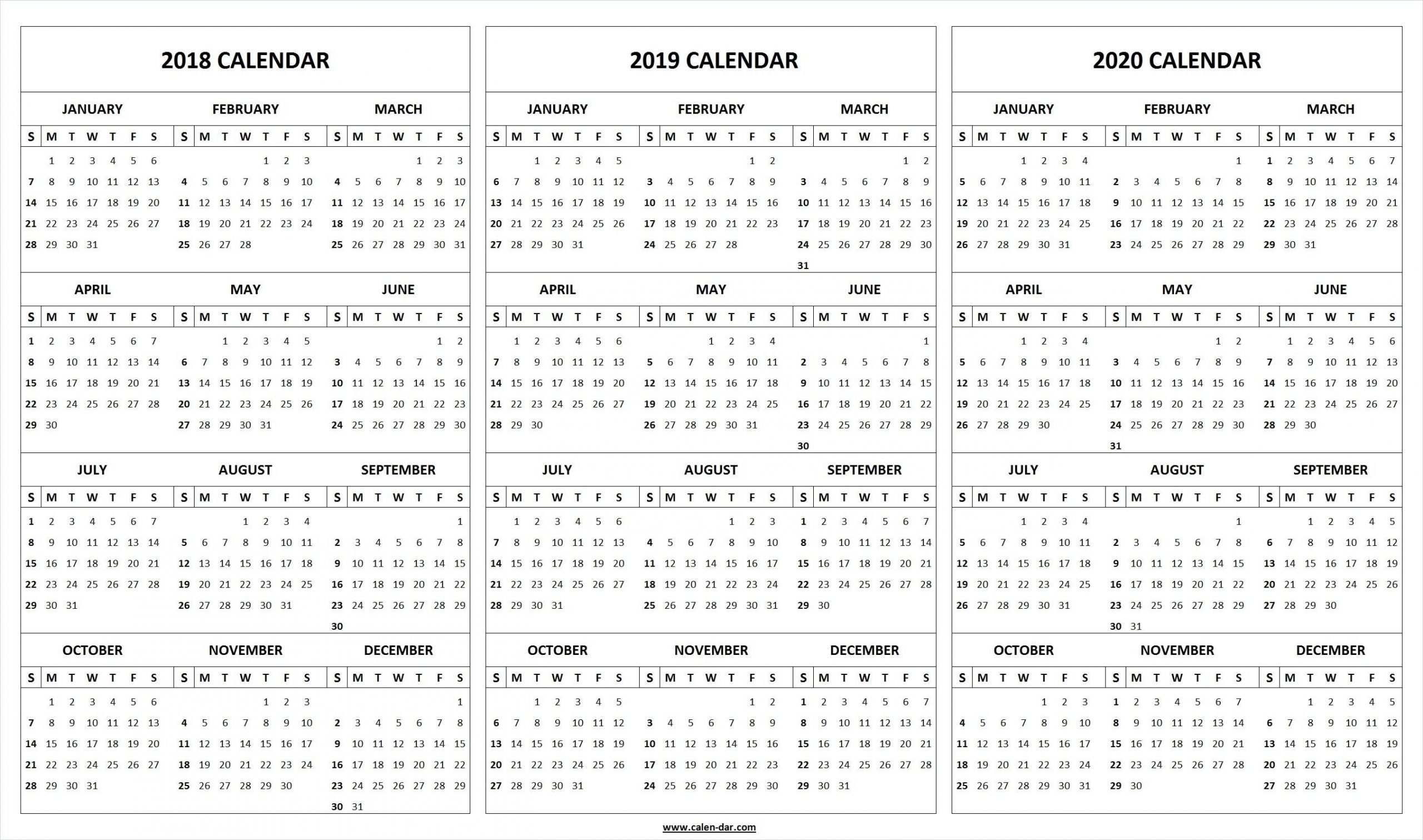 Monthly Printable Calendars 2020 Half Page - Calendar Inspiration Design in Half Page Calendars 20212 Image