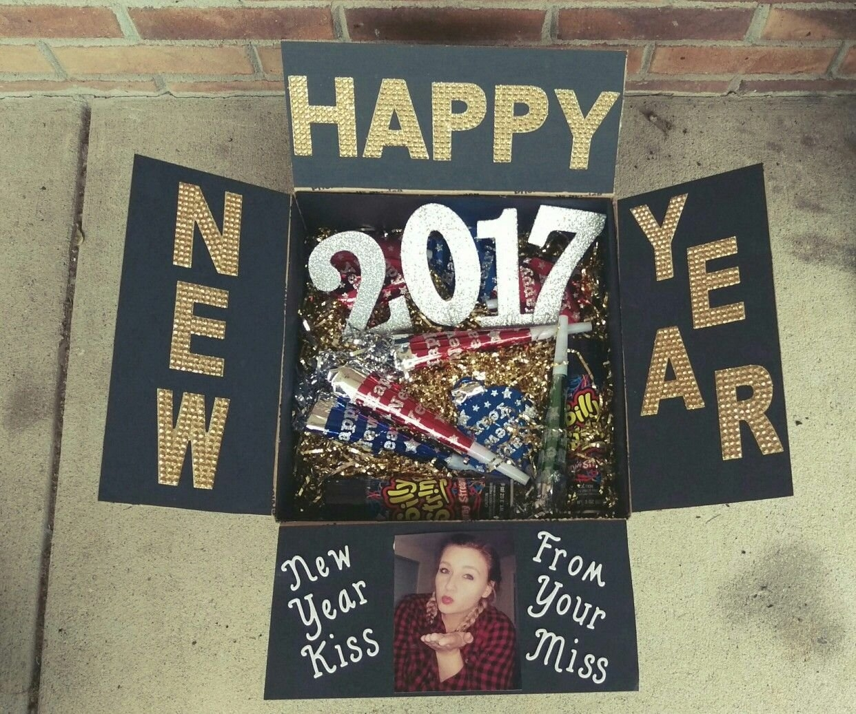 #New #Years #Care #Package For My #Deployed #Boyfriend | Deployed Boyfriend, Birthday Care inside Deployment Countdown Calendar 2018