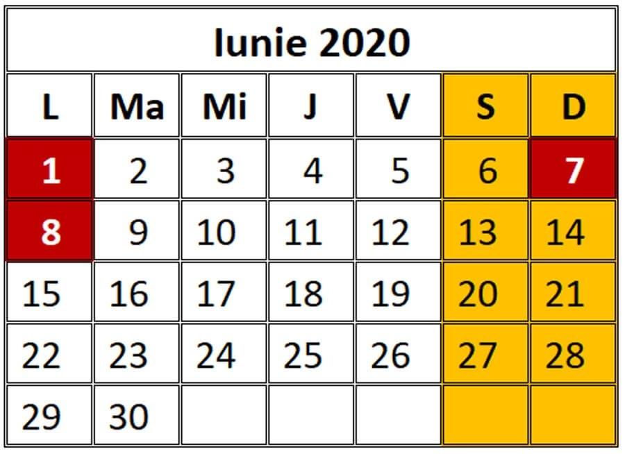 Nr Zile Lucratoare 2019 Pe Luni - Număr Blog with regard to Calendar 2021 Ro Zile Libere