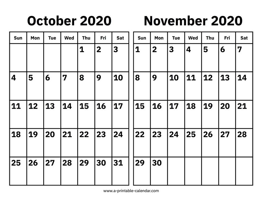 October November Monthly Calendar 2021 30Calender | Calendar 2021 for Broadcast Calendar 2019 2021 Photo