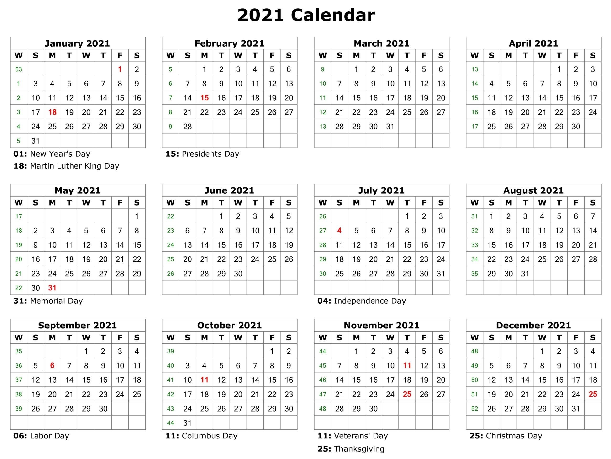 Philippines 2021 Calendar Printable Pdf   2021 Printable Calendars in Philippine Calendar 2021 With Holidays